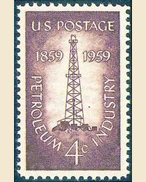 #1134 - 4¢ Petroleum Industry