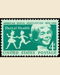 #1135 - 4¢ Dental Health