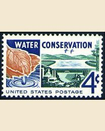 #1150 - 4¢ Water Conservation