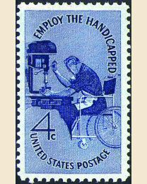 #1155 - 4¢ Handicapped