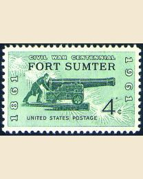 #1178 - 4¢ Fort Sumter