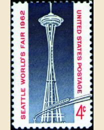 #1196 - 4¢ Seattle World's Fair