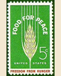 #1231 - 5¢ Food for Peace