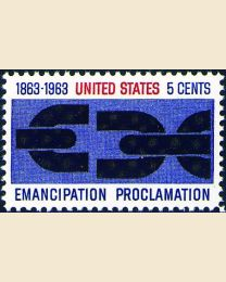 #1233 - 5¢ Emancipation Proclamation