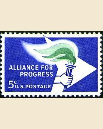 #1234 - 5¢ Alliance for Progress