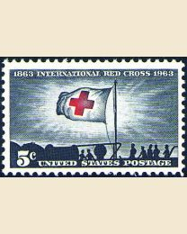 #1239 - 5¢ Red Cross