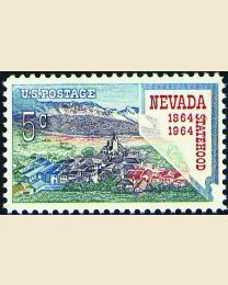 #1248 - 5¢ Nevada Statehood
