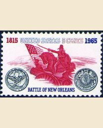 #1261 - 5¢ Battle of New Orleans