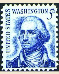 #1283 - 5¢ Washington
