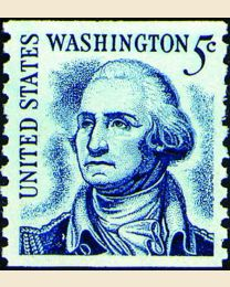 #1304C - 5¢ Washington redrawn
