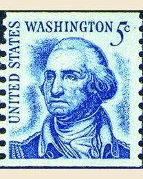 #1304 - 5¢ Washington