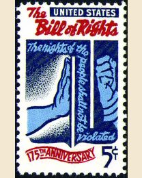#1312 - 5¢ Bill of Rights