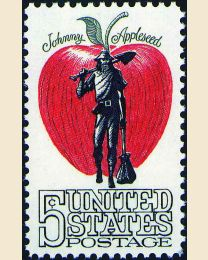 #1317 - 5¢ Johnny Appleseed
