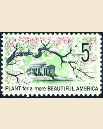 #1318 - 5¢ Beautification
