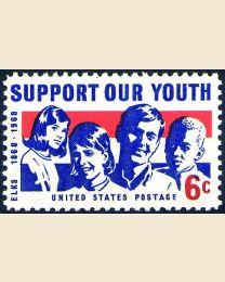 #1342 - 6¢ Support our Youth
