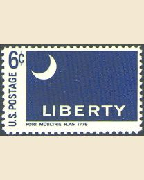 #1345 - 6¢ Fort Moultrie