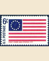 #1350 - 6¢ First Stars and Stripes