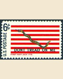 #1354 - 6¢ First Navy Jack
