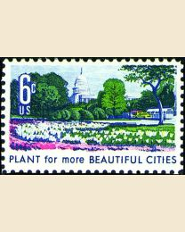 #1365 - 6¢ Beautify Cities