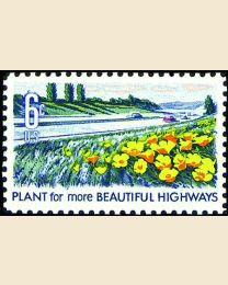 #1367 - 6¢ Beautify Highways