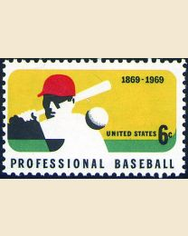 #1381 - 6¢ Professional Baseball