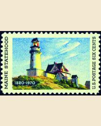 #1391 - 6¢ Maine Statehood
