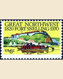#1409 - 6¢ Fort Snelling
