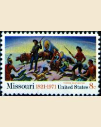 #1426 - 8¢ Missouri Statehood