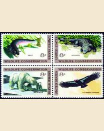 #1427S - 8¢ Wildlife Conservation