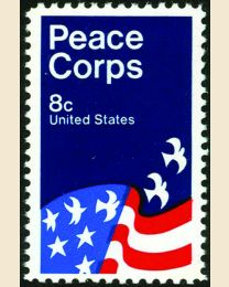 #1447 - 8¢ Peace Corps