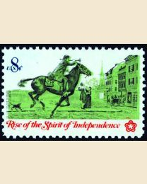 #1478 - 8¢ Colonial Post Rider