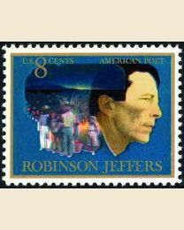#1485 - 8¢ Robinson Jeffers - Poet