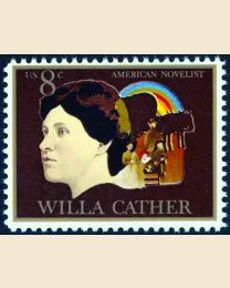 #1487 - 8¢ Willa Cather - Novelist