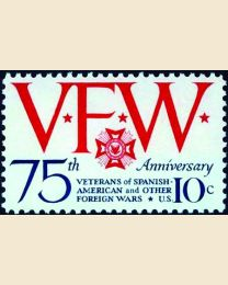 #1525 - 10¢ Veterans of Foreign Wars