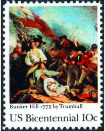 #1564 - 10¢ Battle of Bunker Hill