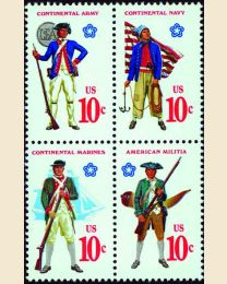 #1565S - 10¢ Military Uniforms