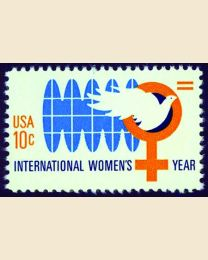#1571 - 10¢ International Women's Year