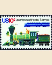 #1573 - 10¢ Locomotives