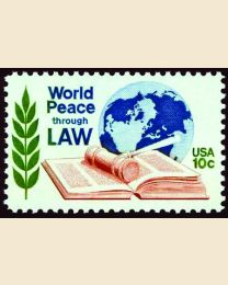 #1576 - 10¢ World Peace Through Law