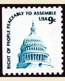 #1590 - 9¢ Capitol booklet