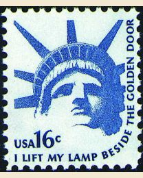 #1599 - 16¢ Statue of Liberty