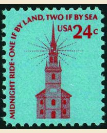 #1603 - 24¢ Old North Church