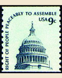 #1616 - 9¢ Dome of Capitol