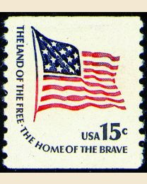#1618C - 15¢ Ft. McHenry Flag