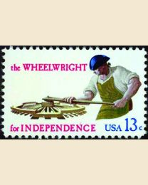 #1719 - 13¢ Wheelwright