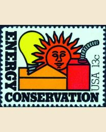 #1723 - 13¢ Energy Conservation