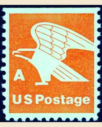 "#1736 - ""A"" 15¢ Eagle booklet single"