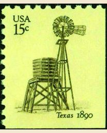 #1742 - 15¢ Windmill - Texas
