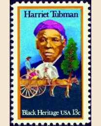 #1744 - 13¢ Harriet Tubman