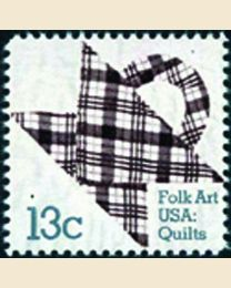 #1748 - 13¢ Plaid Design